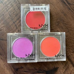 NYX primal colors set of 3